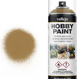 Vallejo Acrylic Desert Yellow Spray 28015