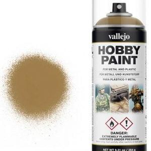 Vallejo Acrylic Desert Yellow Spray 28015