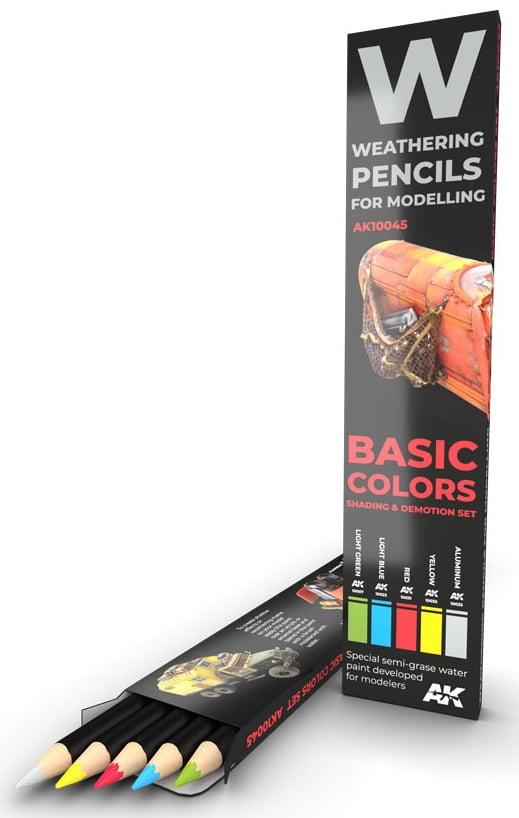 Basic Colors Shading and Demotion Set AKI 10045