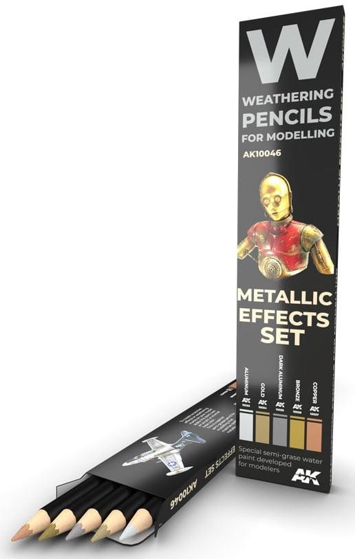 Metallic Effects Set AKI 10046