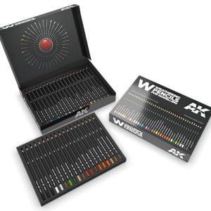 AK Interactive Weathering Pencils Deluxe edition box AKI 10047