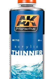 AK Interactive Acrylic Thinner AKI 712