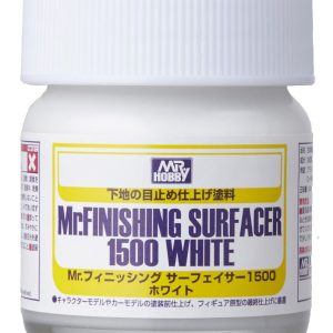 Mr Finishing Surfacer 1500 White Bottle SF291