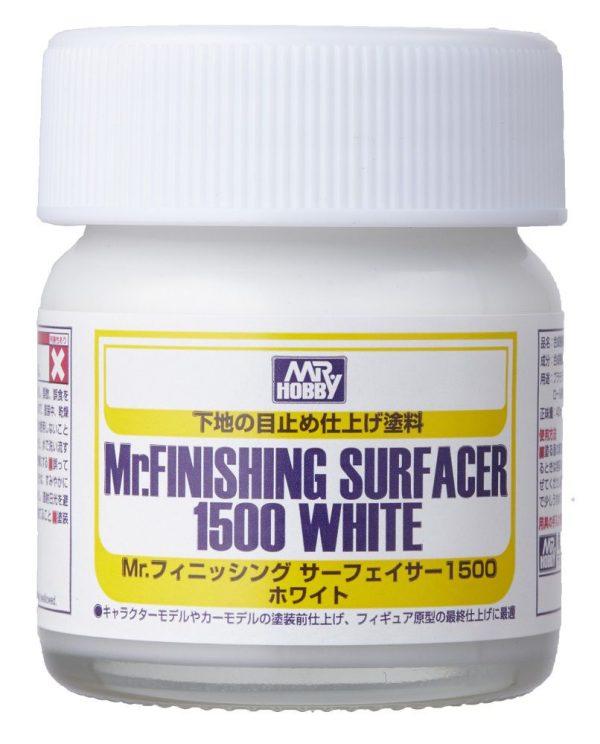 Mr Finishing Surfacer 1500 White Bottle SF291