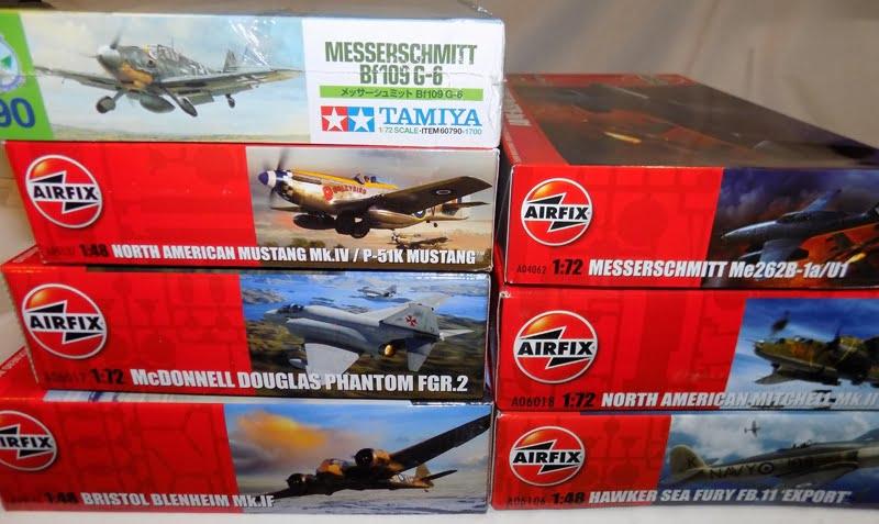 New Airfix and Tamiya Model Kits Now Available at Sunward Hobbies
