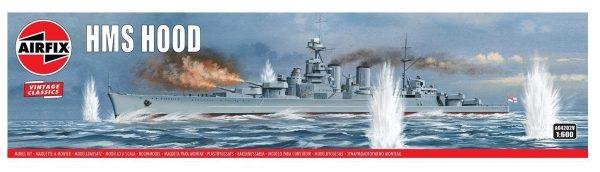 Airfix HMS Hood 1/600 Scale A04202V