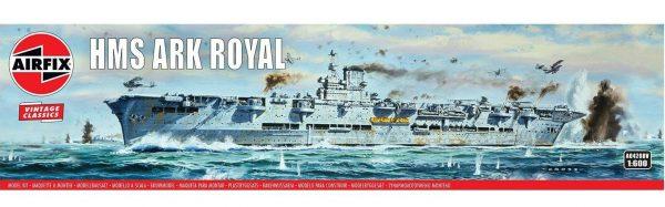 Airfix HMS Ark Royal 1/600 Scale A04208V