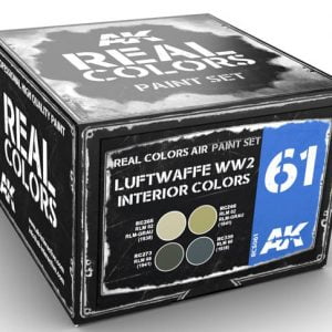 AK Interactive Luftwaffe WW2 Interior Colors RCS061