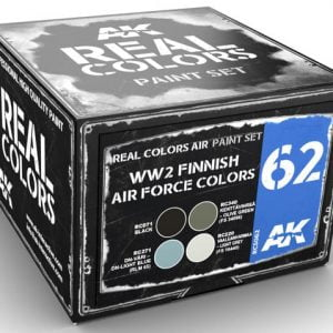 AK Interactive WW2 Finnish Airforce Colors Paint Set RCS062