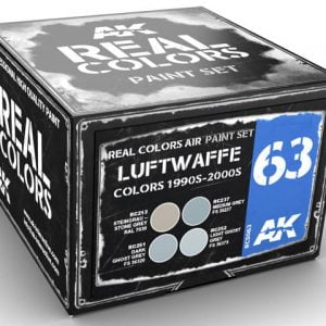 AK Interactive Luftwaffe Colors 1990s to 2000s Paint Set RCS063