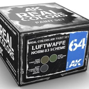 AK Interactive Luftwaffe Norm 83 Scheme Paint Set RCS064