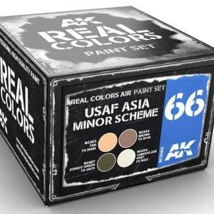 AK Interactive USAF ASIA MINOR Scheme Paint Set RCS066
