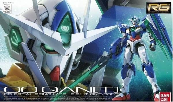 Bandai 00 QANT Celestial Being Mobile Suit Gundam RG