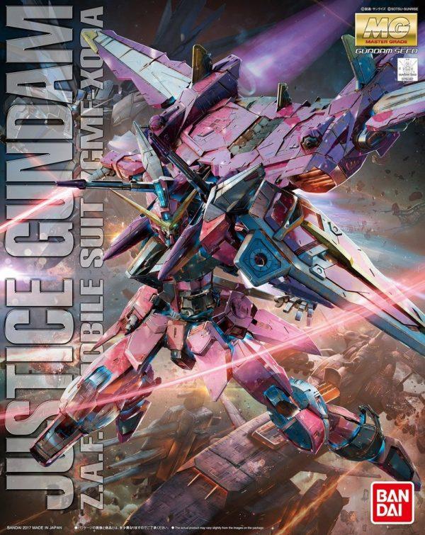 Bandai Justice Gundam Seed MG 216382