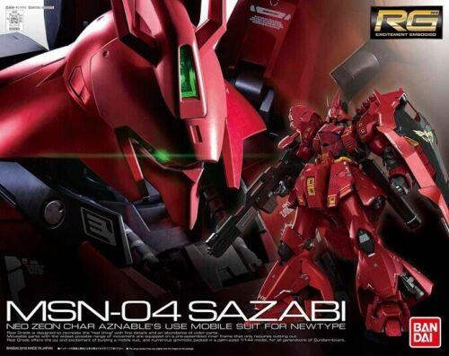 Bandai MSN-04 Sazabi Gundam RG 230363