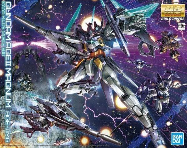 Bandai Build Divers Gundam Age II Magnum Gundam MG 5057065