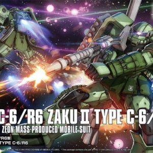 Bandai Zaku II Type-C-6 R6 HG Origins 5057576