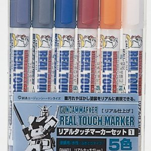 Gundam Marker Real Touch Set No1 GMS-112
