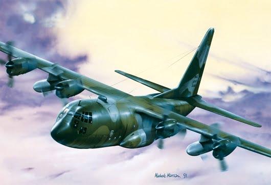 Italeri C-130 HERCULES E/H 1/72 Scale 015
