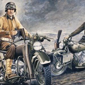 Italeri U.S. Motorcycles 1/35 Scale 322