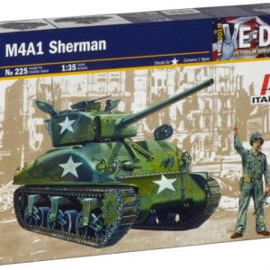 Italeri M4A1 SHERMAN 1/35 Scale 225
