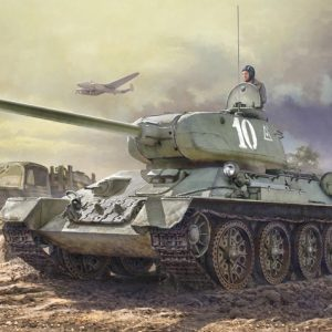 Italeri T34/85 Zavod 183 Mod 1944 Model Kit 6545