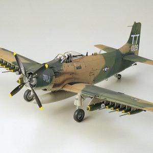 Tamiya Douglas A-1J Skyraider USAF 1/48 Scale 61073
