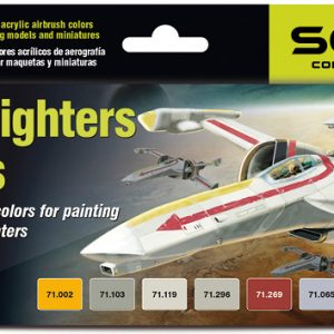 Vallejo Star Fighters Colors Paint Set of 8 71612