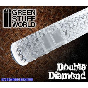 Rolling Pin Double Diamond Green Stuff World 1164