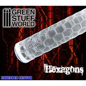 Rolling Pin Hexagons Green Stuff World 1160