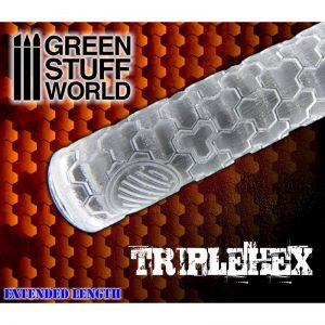 Rolling Pin TripleHex Green Stuff World 1161