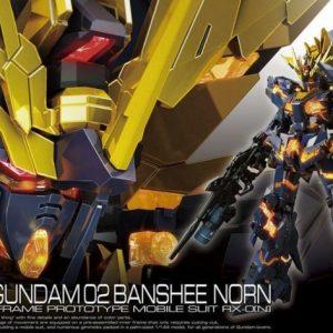Bandai #27 Unicorn Gundam 02 Banshee Norn RG 1/144 221060