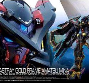 Bandai #24 Gundam Astray Gold Frame Amatsu Mina RG 1/144 5055460