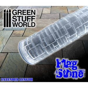 Rolling Pin Flagstone Green Stuff World 1676