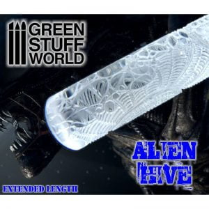 Rolling Pin Alien Hive Green Stuff World 1664