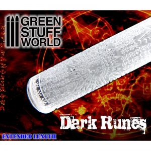Rolling Pin Dark Runes Green Stuff World 1279