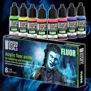 Fluor Paints Set of 8 GSW 9353