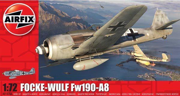 Airfix Focke-Wulf Fw190A-8 1:72 Scale A01020A