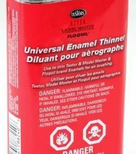 Testors Airbrush Enamel Thinner 8oz 236ml TES 8824