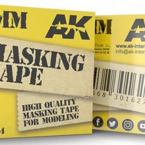 AK Interactive Masking Tape 12mm AKI 8204