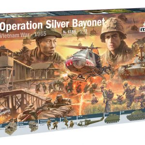 Italeri Operation Silver Bayonet Vietnam War 1965 Battle Set 6184