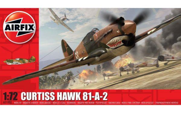 Airfix Curtiss Hawk 81-A-2 1:72 A01003
