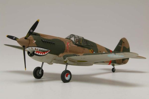 Airfix Curtiss Hawk 81-A-2 1:72 A01003 completed