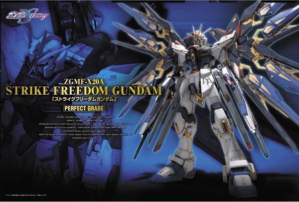 Bandai Strike Freedom Gundam Perfect Grade 165506