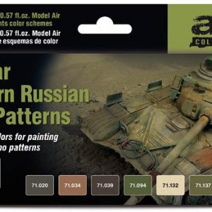 Vallejo Cold War and Modern Russian Desert Patterns paint Set 71620