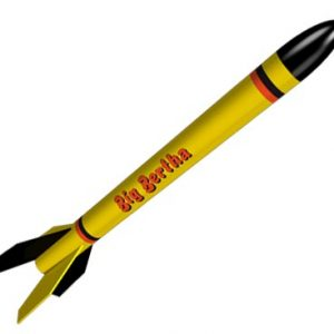 Estes Big Bertha Model Rocket Kit 1948