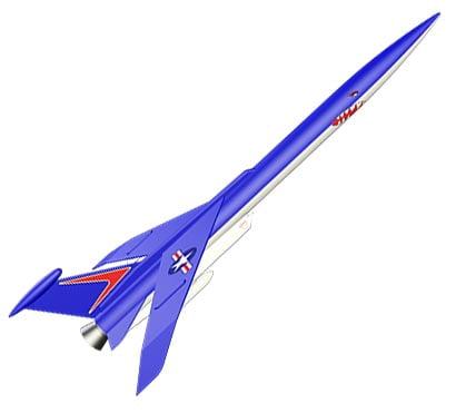 Estes Conquest Model Rocket Kit 7230