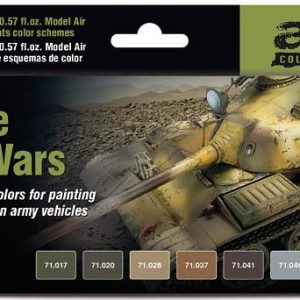 Vallejo Middle East Wars 1967's to Present Paint Set 71619