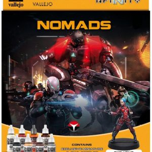 Vallejo Nomads Paint Set 70233