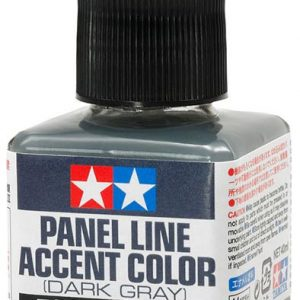 Tamiya Panel Line Accent Color Dark Grey Gray 87199